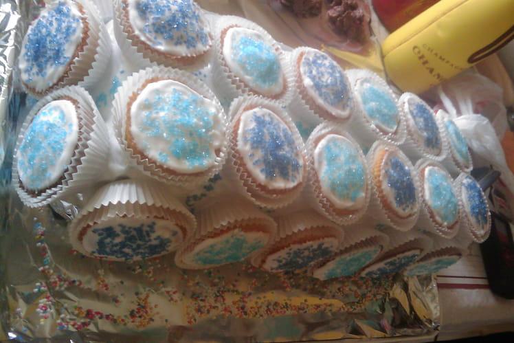 Bûche cupcakes