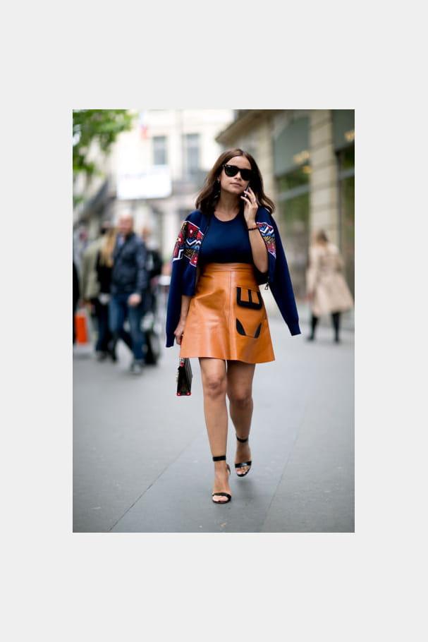 Street looks fashion week haute couture : pointu