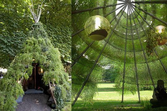 Un tipi tout en herbe - Un abri de jardin est il imposable ...