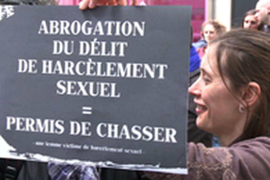 Colère après l'annulation du délit de harcèlement sexuel