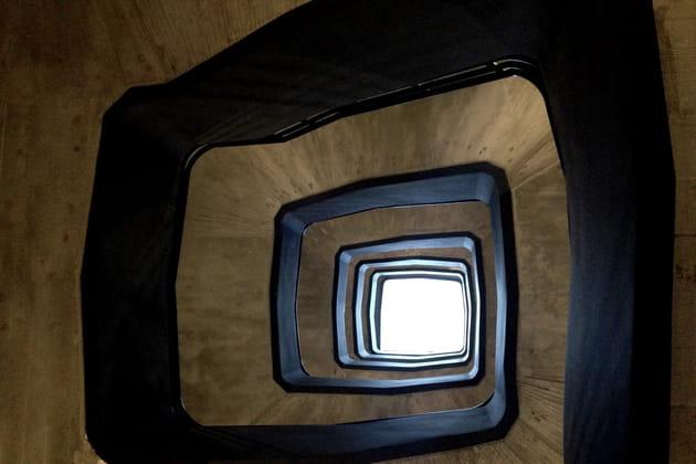 L'impressionnant escalier