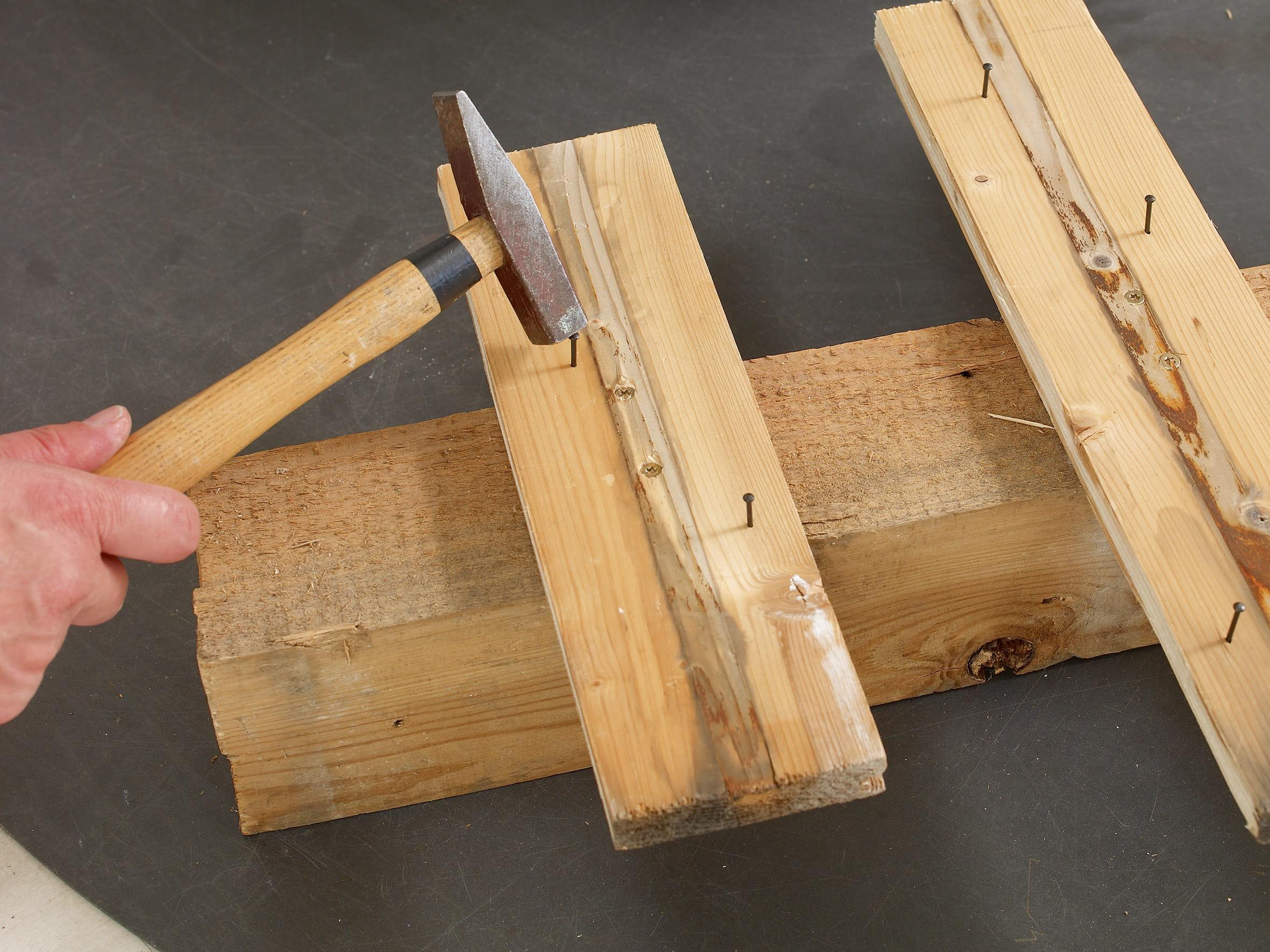 Diy un sapin de no l en bois brut - Journal des femmes com ...