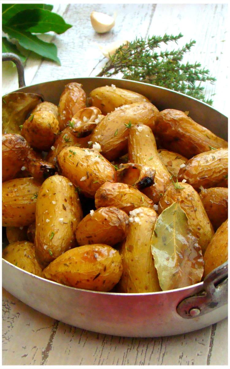 Recette De Pommes De Terre Grenailles Aux Herbes Aromatiques Et Sel De Guérande