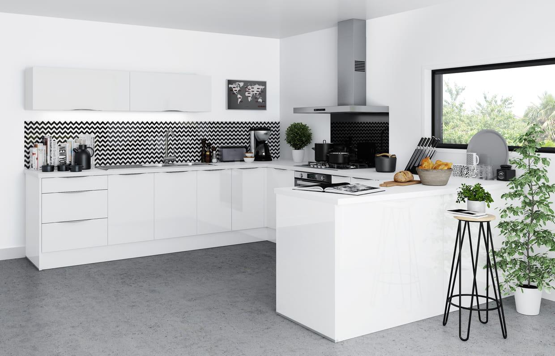 cuisine saga de but. Black Bedroom Furniture Sets. Home Design Ideas