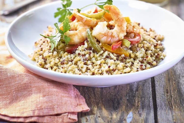 Crémeux de quinoa délice Tipiak au lait de coco et crevettes