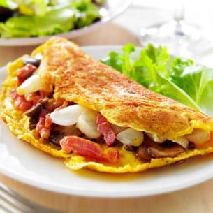 l'omelette paysanne