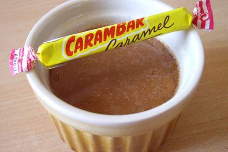 Petits pots de crème Carambar