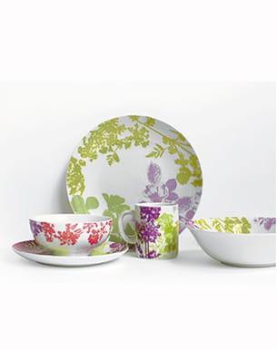 art de la table 'florale' des ateliers lzc