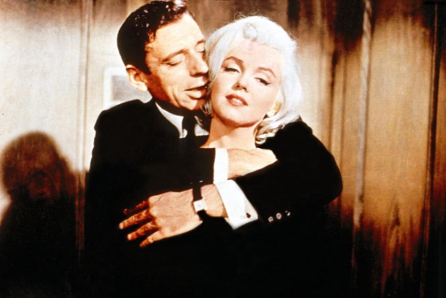 Marilyn Monroe, enceinte d'Yves Montand?