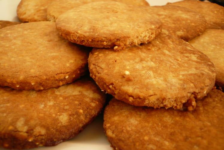 Recette de sabl s au quinoa la recette facile - Cuisine tv eric leautey ...