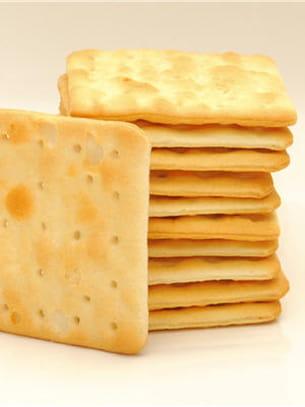 5 crackers ne dépassent pas 100 kcal.