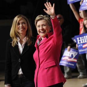 chelsea clinton soutient la candidature démocrate de sa mère, hilary,à