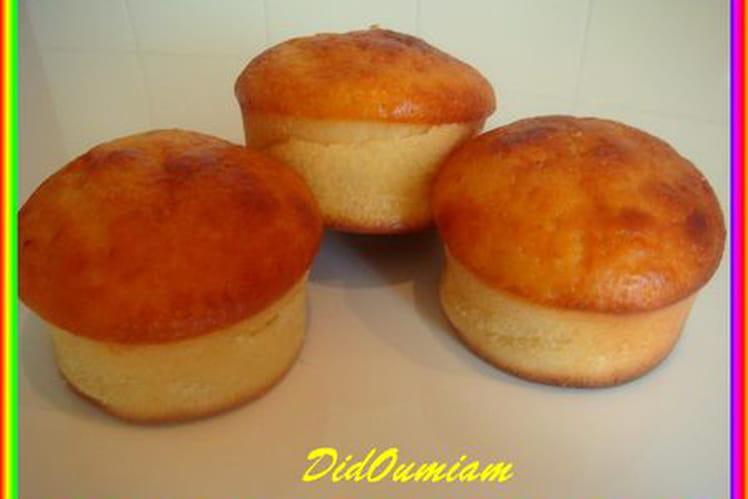 Petits muffins au citron et au lait fermenté