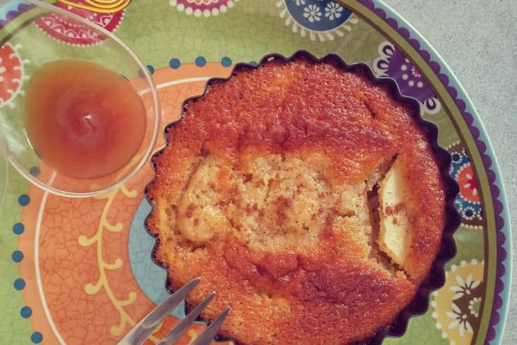 Gâteau noisette pomme et cannelle