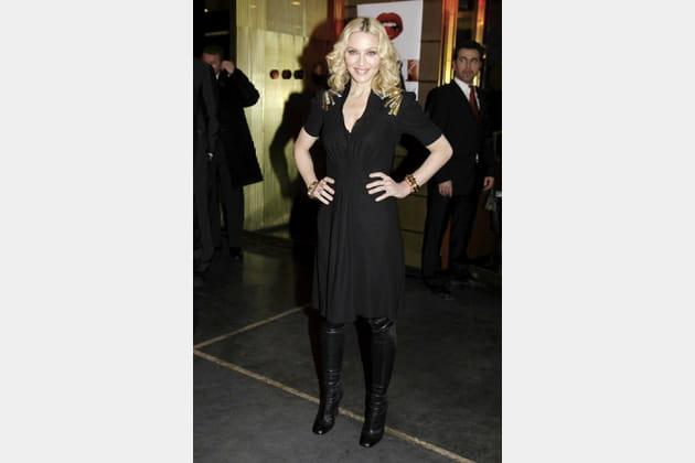Madonna le 13février 2008
