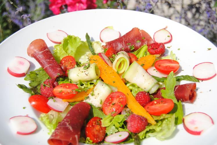 Salade fraîcheur craquante