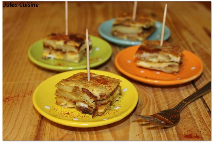 Tortilla de patates, piment d'Espelette