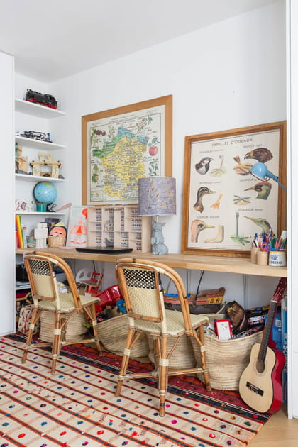 Un bureau pour deux esprit classe d'école