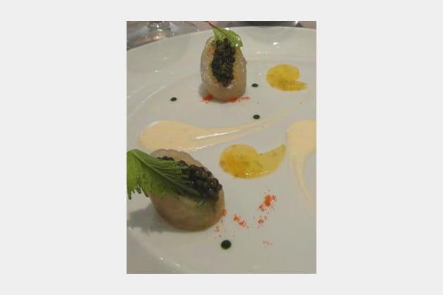 Tomates et caviar