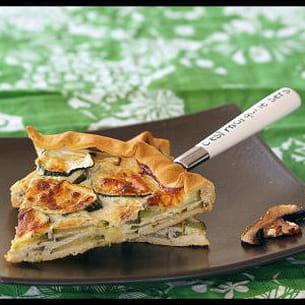 tarte anisée aux courgettes