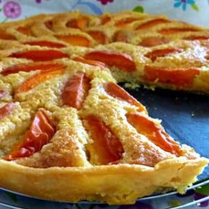 tarte amandine aux abricots