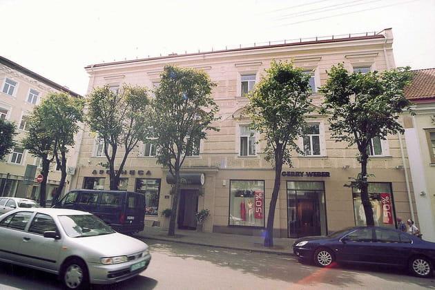 L'hôtel Domina Plaza à Vilnius