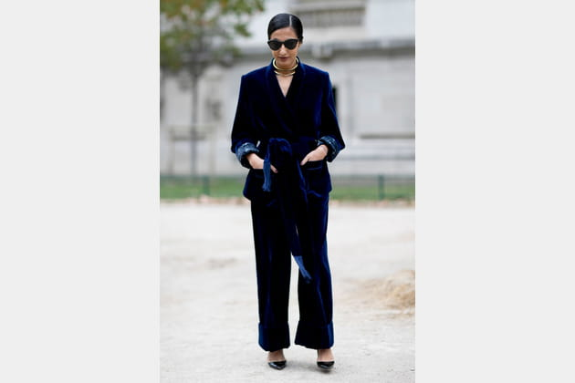 Le total look velours