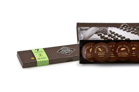 Plumier Chocolat de Michel Cluizel