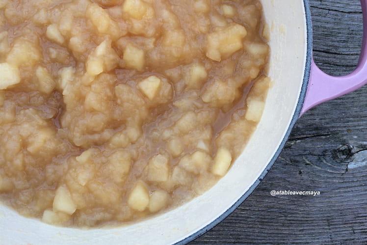 Compote de pomme à la cannelle