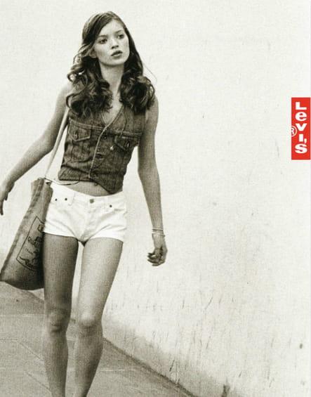 Les années 90 : Kate Moss