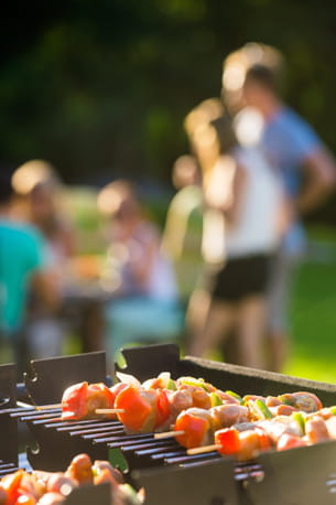 les beaux jours sont aussi l'occasion de sortir l'incontournable barbecue!