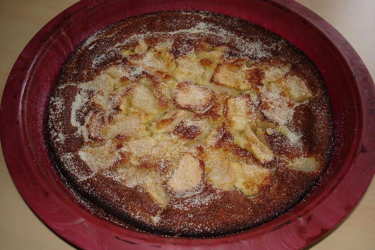 Gâteau pommes et poires
