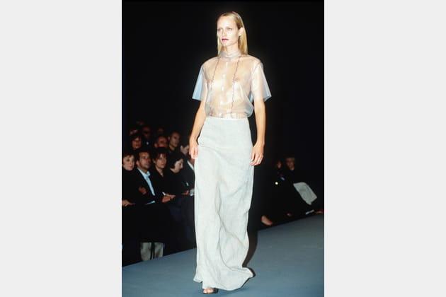 Amber Valletta le 1er octobre 1997
