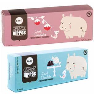 dreamy chocolate hippos de barú