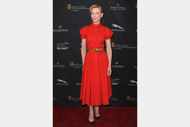 Cate Blanchett le 11janvier 2014
