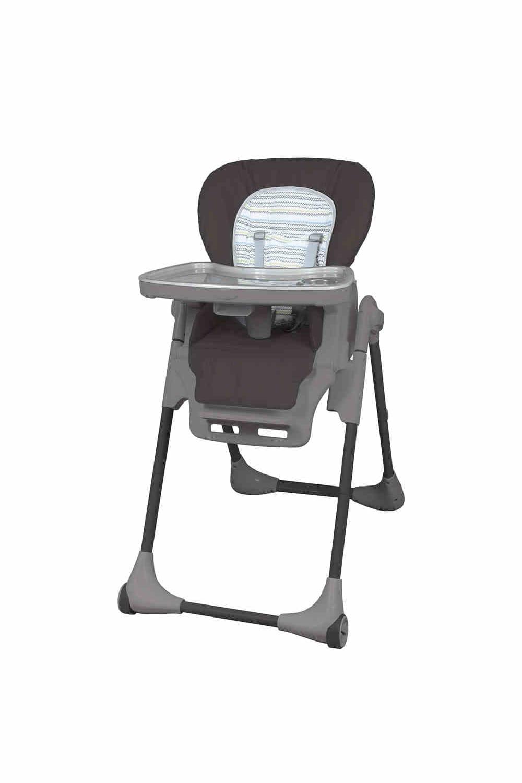Chaise haute zigzag de babyfit - Chaise haute autour de bebe ...