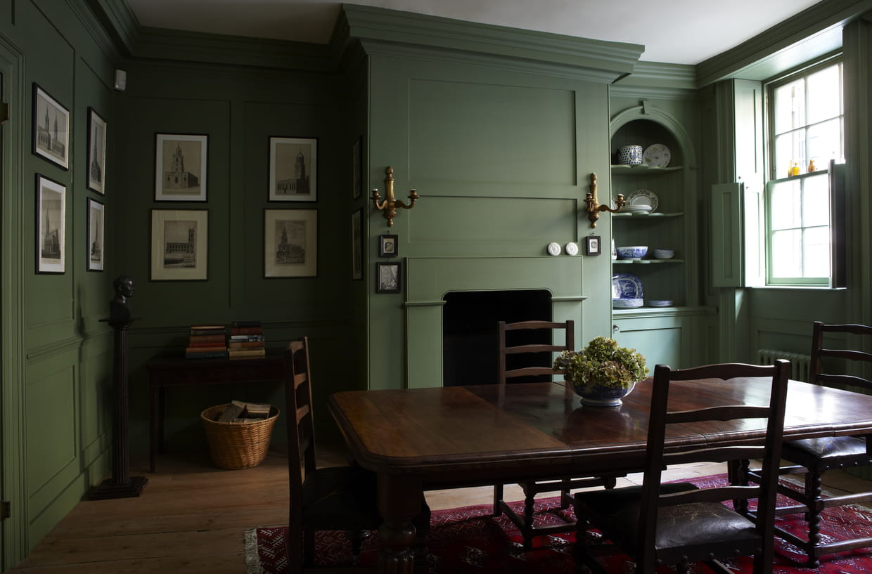 peinture verte farrow ball. Black Bedroom Furniture Sets. Home Design Ideas
