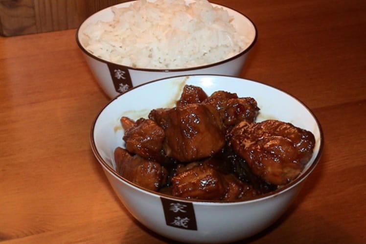 Porc au caramel chinois