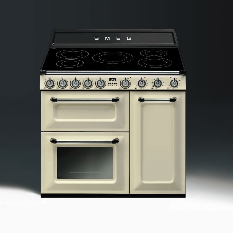 piano de cuisson esth tique victoria gaz de smeg. Black Bedroom Furniture Sets. Home Design Ideas