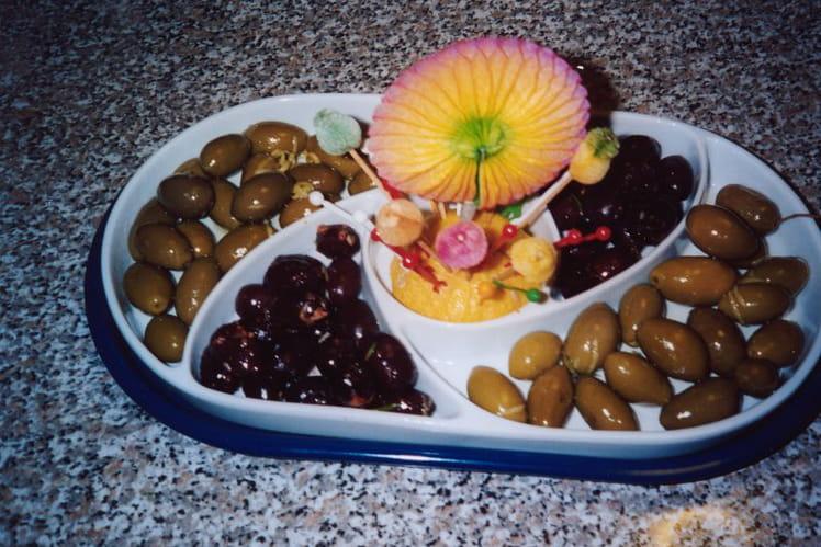 Olives assaisonnées