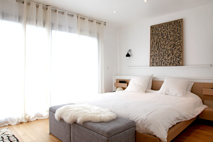 Chambre lumineuse et moderne