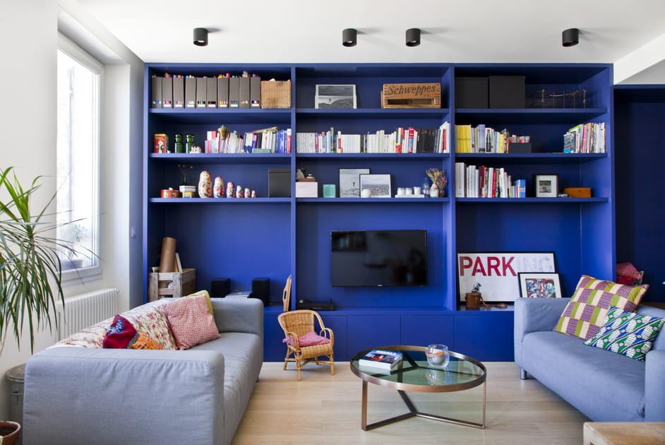 Un salon qui plonge dans le Grand Bleu