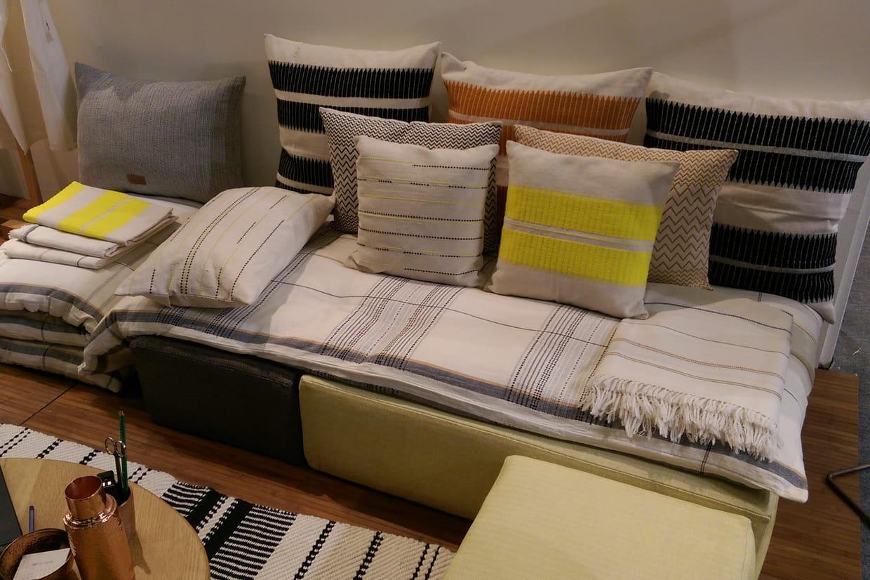 les textiles de mille et claire. Black Bedroom Furniture Sets. Home Design Ideas