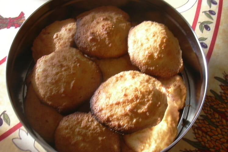 Biscuits à la noix de coco et rhum
