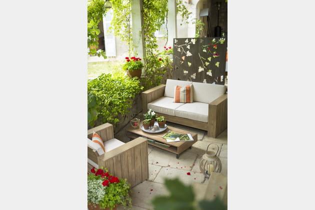 Salon De Jardin Campagne De Botanic