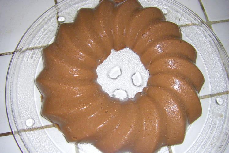 Pudding au Chocolat façon flan