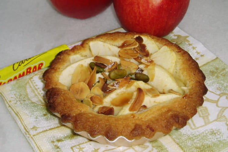 Tartelette aux pommes et Carambar