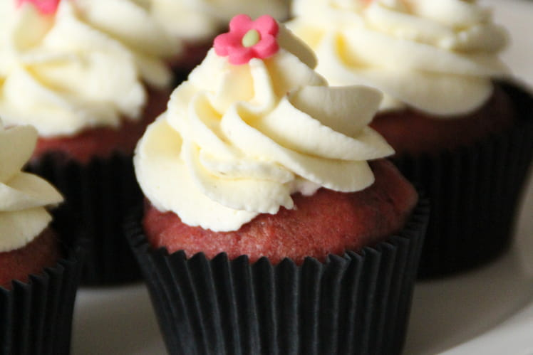 Red Velvet Cupcake à la betterave