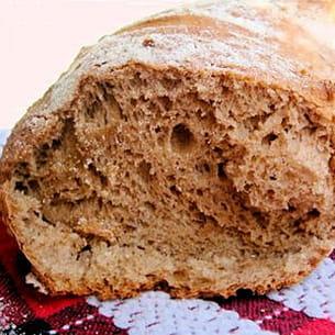 pain de seigle à la noix de muscade