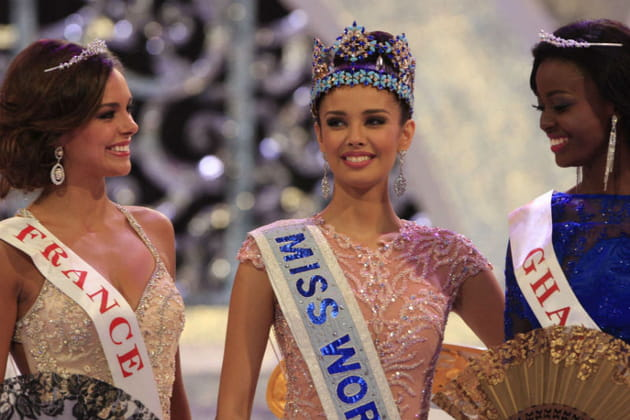 Le sacre de Miss Monde et Miss France, 1ère dauphine : les photos